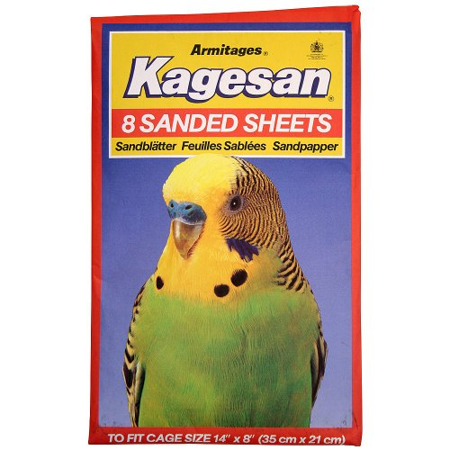 Northern Parrots Kagesan Sanded Sheets 35x21cm (14×8) – 8 Pack