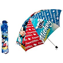 Disney Mickey 17505 - Paraguas plegable 55cm