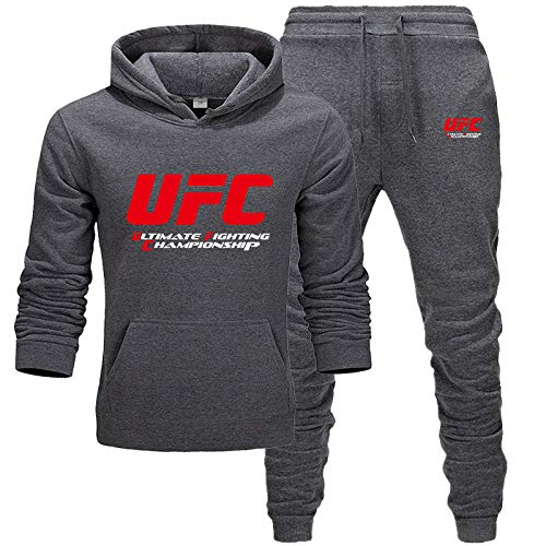 Nxddggacs Chándal UFC Moda Hombre/Mujer Ropa Deportiva