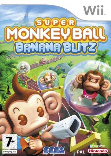 Super Monkey Ball - Banana Blitz [Pegi] (Wii Banana Blitz)