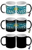 Zauber Magic Tasse Reisen Küche Vancouver Kanada