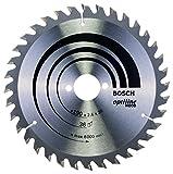 Bosch Professional Kreissägeblatt (für Holz, AußenØ: 190 mm, Bohrung: 30 mm, Zubehör für Kreissäge)