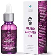 Bombay Shaving Company Beard Growth Oil For Men infused with Vetiver and 4 Essential oils for Effective Beard