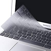 MOSISO EU/IT Layout Copertura Tastiera Compatibile MacBook PRO 13 Pollic/15 Pollici(con/out Display Retina,2015/Versione Precedente) MacBook Air 13 Pollici(A1369/A1466,Edizione 2010-2017),Trasparente