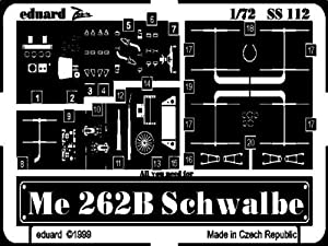 Eduard Accessories ss112Modelo para Montar Accesorios Me 262B Schwalbe