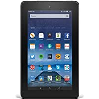 """Fire Tablet, 7"""" Display, Wi-Fi, 8 GB (Black) - Includes Special Offers"""
