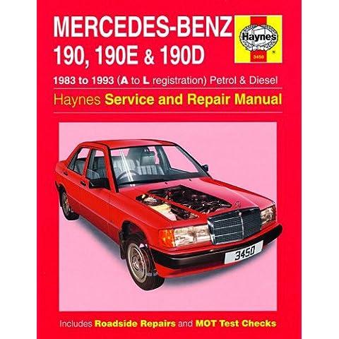 Mercedes-Benz 190, 190E & 190d Benzina e Diesel 1983–1993manuale