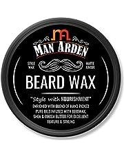 Man Arden Beard Wax Strong Hold with Matte Finish 50gm