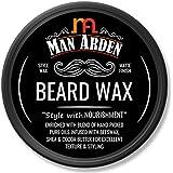 Man Arden Beard Wax - Strong Hold with Matte Finish - 50gm