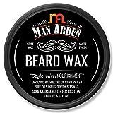 Best Moustache Waxes - Man Arden Beard Wax - Strong Hold Review