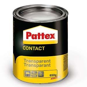 Pattex Colle Contact Transparent Boîte 650 g
