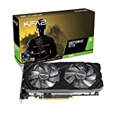 KFA2 nVidia GeForce GTX 1660 OC 6GB 192-bit GDDR5 PCIe Grafikkarte, 60SRH7DSY91K, schwarz