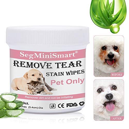 Zoom IMG-1 salviette cani per occhi detergenti