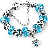 QWERST Armband Strass Charme Bracelets Frauen DIY-Schmuck 21 cm