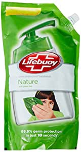 Lifebuoy Nature Germ Protection Hand Wash - 900 ml