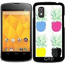 Funda para Google Nexus 4 - Piñas Cmyk by adovemore