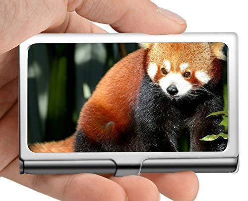 Visitenkartenetui, Strampelanzug Animal Panda Visitenkartenetui Visitenkartenetui (Edelstahl)