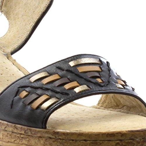 Cushion Walk , Sandales pour femme Noir