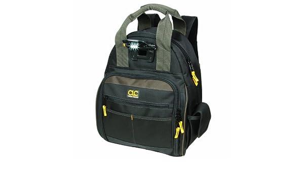 1bf2432622ad CLC Custom Leathercraft L255 Tech Gear 53 Pocket Lighted Back Pack CUSF9