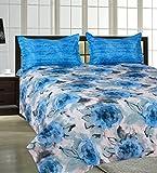 Salona Bichona 100% Cotton White&Blue Do...
