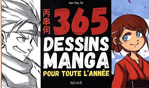 365 dessins manga pour toute l'a