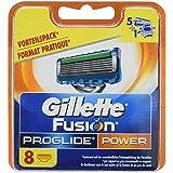 Gillette Fusion ProGlide Power Rasierklingen für Männer, 8Stück