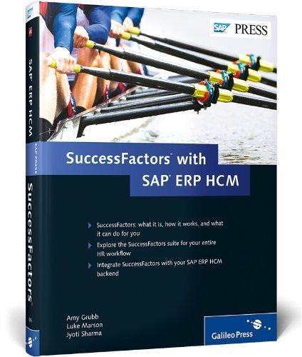 SuccessFactors with SAP ERP HCM by Luke Marson (2013-09-17) par Luke Marson;Jyoti Sharma;Amy Grubb