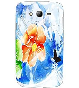 SAMSUNG GALAXY GRAND NEONEO FLOWER Back Cover by PRINTSWAG