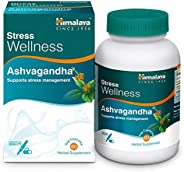 Himalaya Ashvagandha, Relieves Stress and Boosts Energy, Ashwagandha Veg. Caps, 60 Tablets