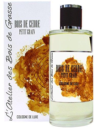 L'Atelier des Bois de Grasse Cologne de Luxe Bois de Cèdre Petit Grain 200 ml