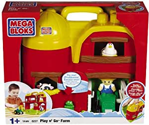 Mega Bloks  - 08227V - Jeux de construction - Build'n Go Farm