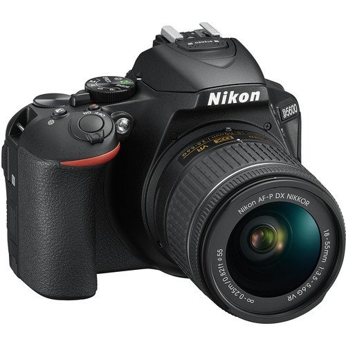 Nikon D5600 DX format Digital SLR w/ AF P DX NIKKOR 18 55mm f/3. 5 5. 6G VR