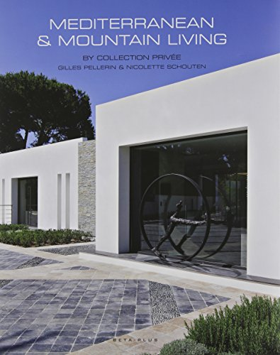 Mediterranean et Mountain living by Collection privée: Gilles Pellerin et Nicolette Schouten.