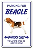 Home Decor Schild Beagle Geschenk Hound Hunde Groomer Puppy Pup Metall Schild für Outdoor Yard Sicherheit Schild Aluminium Schilder