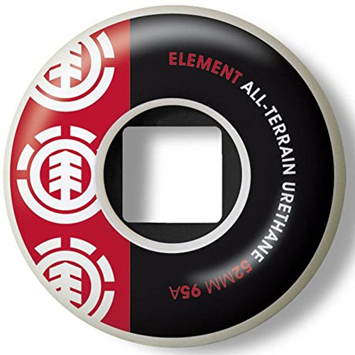 element-thriftwood-section-red-black-52mm-wheels
