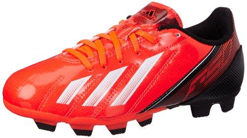 adidas Performance F5 TRX FG J Q33917, Jungen Fußballschuhe, Rot (INFRARED / RUNNING WHITE FTW / BLACK 1), EU 38 2/3 (UK 5.5) - Neon Ball Adidas Fußball