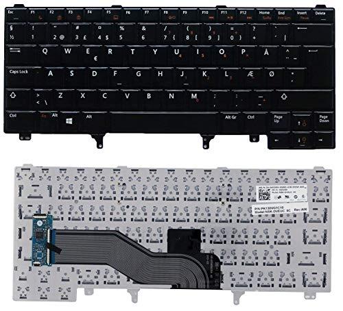 QWERTY-Tastatur Dell Latitude E5320 E5420 E5430 E5520 E6220 E6320 E6330 E6420 E6430 E6620, OEM, Schwarz