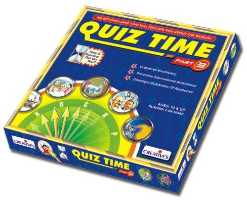 Creative Educational Aids 0658 Quiz Time – III