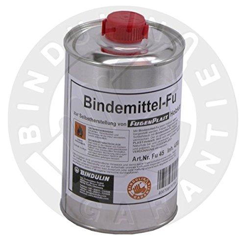 Bindemittel FU zur Selbstherstellung von Fugenplast Holzkitt (430g = 500ml Flasche)