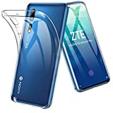 TOPACE Hülle für ZTE Axon 10 Pro 5G, Ultra Schlank R&umschutz Softschale Silikon TPU Stoßfest Handyhülle Schutzhülle Anti-Fingerabdruck Shock Absorption ZTE Axon 10 Pro 5G (Transparent)