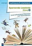Spannende Lesetexte - Klasse 3: 3-fach differenzierte Materialien zum Textverständnis (Leseförderung für zwischendurch)