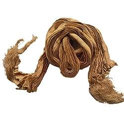 Paridhanlok men Silk Dupatta Stole Chunni for Sherwani Kurta with tassles from India