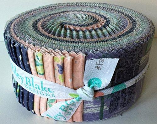 Peter Pan Jelly Roll-Peter Pan-Jelly Roll-rbp280-Bundle of 40Stück (2von jedem Design) je 6cm x 110cm (6,3x 111,8cm ca.)-von Riley Blake-100% Baumwolle Jelly Roll Pan