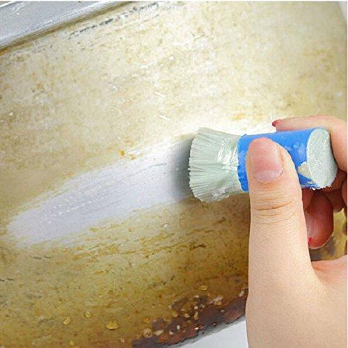 sunnymi Stahl Metallrost Reinigen Sie das Bürste,Multifunktional für: Autoreifen / Tür / Wand / Boden / Küche / Bad,Metal Rust Cleaning Wipe (senden Sie zufällig, 5cmX2.2cm)