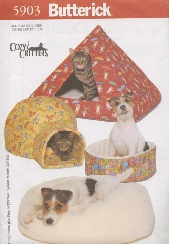 Butterick 5903 - Cozy Critters - Pet Beds by Cozy Critters