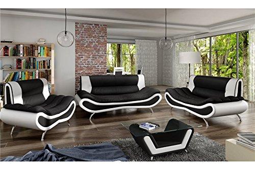 Table Basse Design ORI - Noir et Blanc
