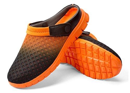 SWYIVY , Herren Sandalen Orange