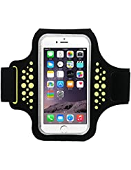 Guzack Sport-Armband für iPhone, Wasserfestes Sweatproof Schwitzschutz Sportarmband für Gymnastik, Jogging, Workout, Langlaufen und mehr