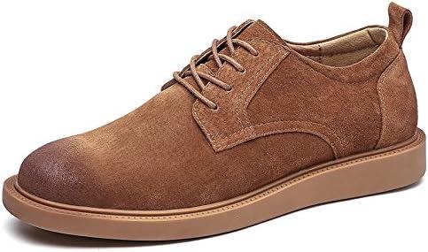 YXLONG Herramientas De Botas De Otoño De Los Hombres Nuevos De Cuero Retro Zapatos De Los Hombres Versión Coreana...