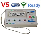 GQ GMC-320+V5 Digital Geiger Counter WiFi Wireless Data Logger Dosimeter Radiation Detector